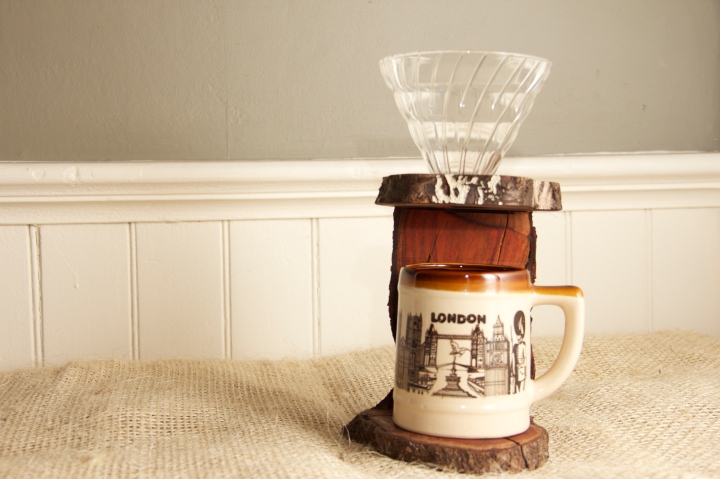 The Plum Tree Pour-Over Stand